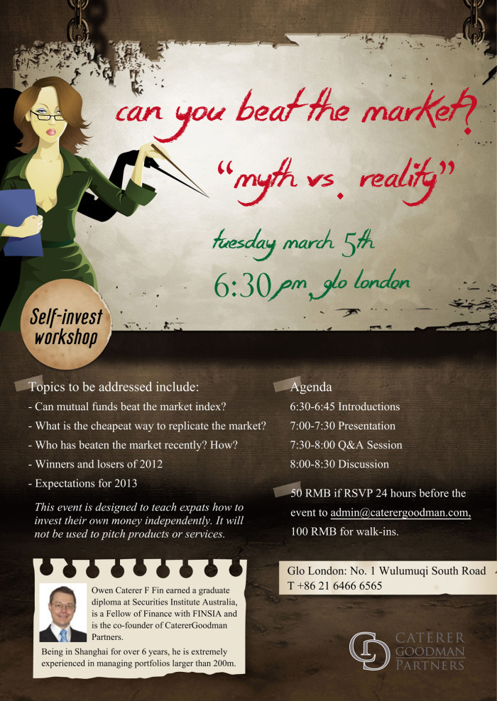 beat the market flyer